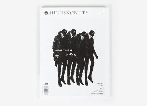 Highsnobiety Magazine Issue 8 - Spring/Summer 2014 (Aitor Throup Cover)