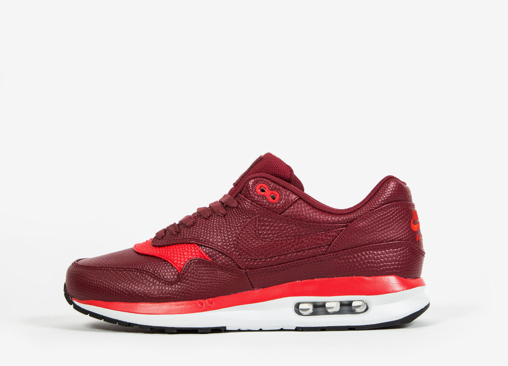 Nike Air Max Lunar1 Deluxe Shoes - Team Red