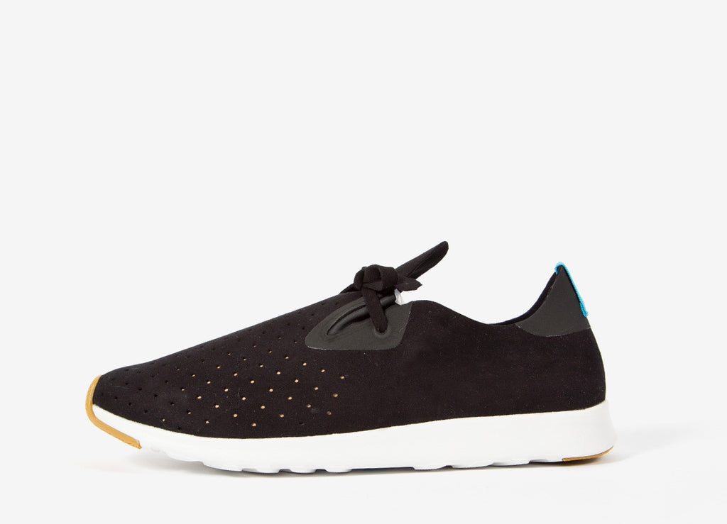 Native Shoes Apollo Moc Shoes - Jiffy Black/Shell White