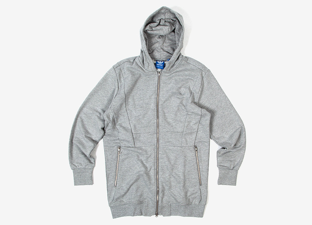 adidas Originals MOD Long Hoody - Grey