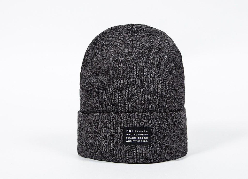 HUF Mixed Yarn Beanie - Black