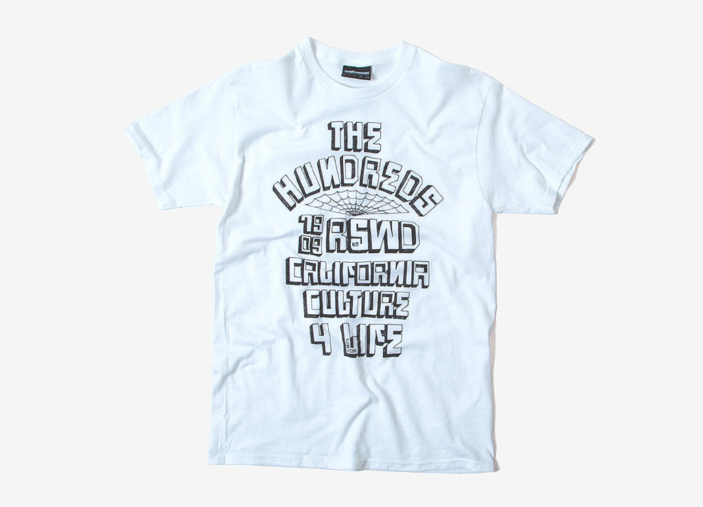 The Hundreds Block City T Shirt - White