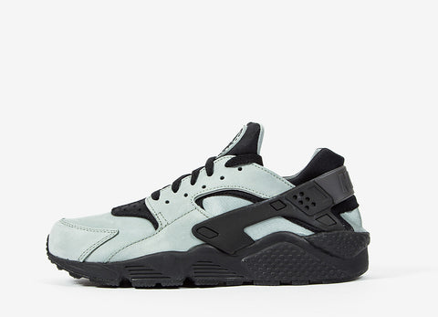 Nike Air Huarache Run PRM Shoes - Mica Green/Black