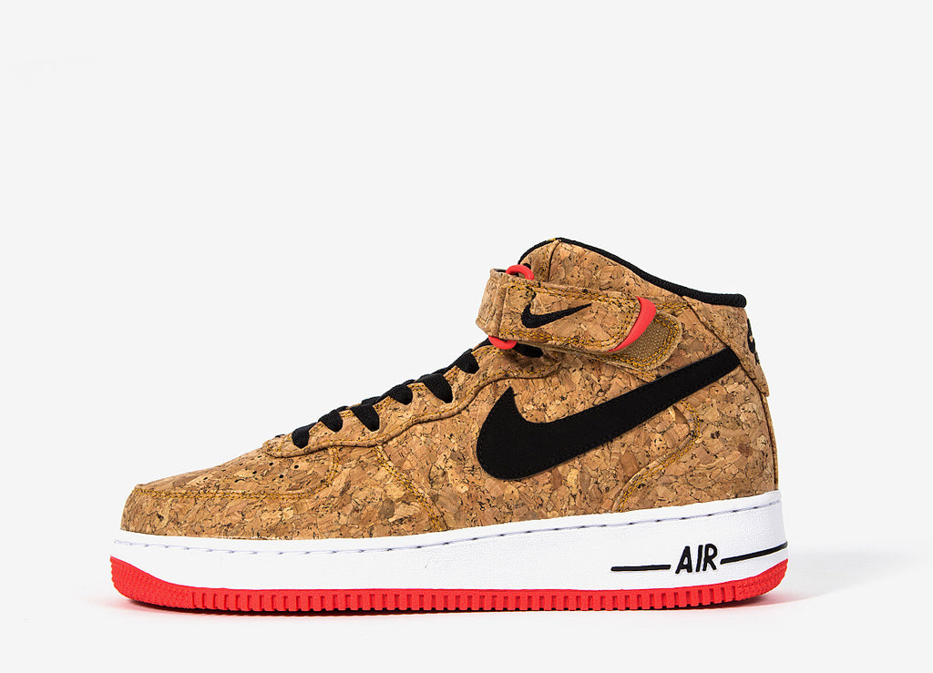 Nike Air Force 1 Mid 'Cork' Shoes - Cork