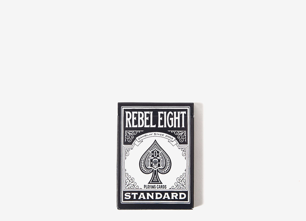 Rebel8 x Bicycle Playing Cards - Black