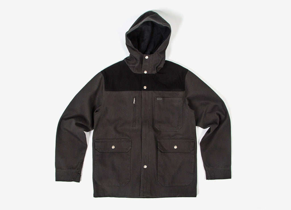 Brixton Defender Jacket - Black/Black
