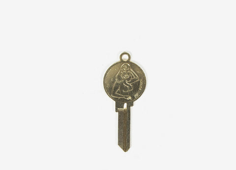 Good Worth & Co Heads & Tails Key - Gold
