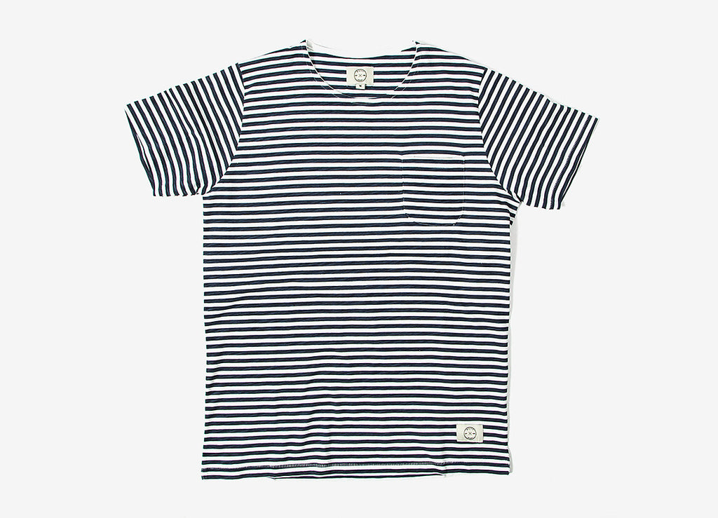 SUIT Belmont Pocket T Shirt - Navy