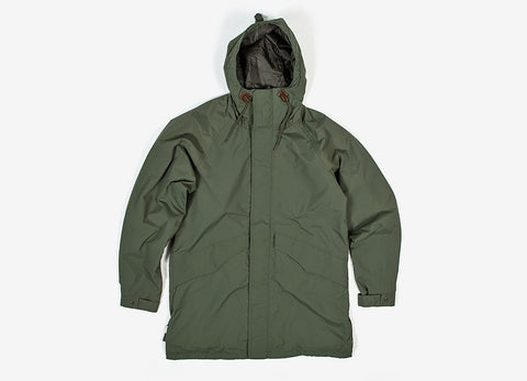 HUF Trench Military Jacket - Olive