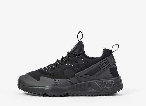 Nike Air Huarache Utility Shoes - Black/Black