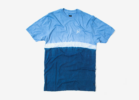 HUF Stripe Wash T Shirt - Navy