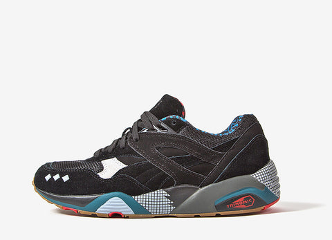 PUMA x ALIFE R698 Shoes - Black/Grey