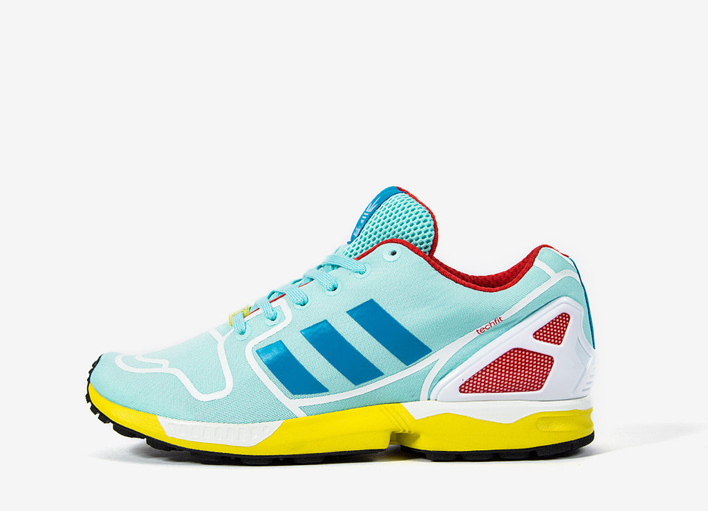 adidas Originals ZX Flux Tech Fit - Blue