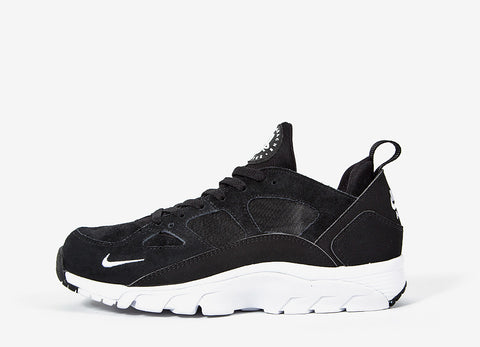 Nike Air Trainer Huarache Low Shoes - Black/White-Black