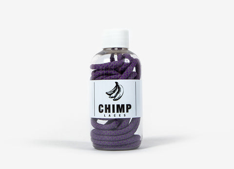 Chimp 3M Rope Laces - Purple