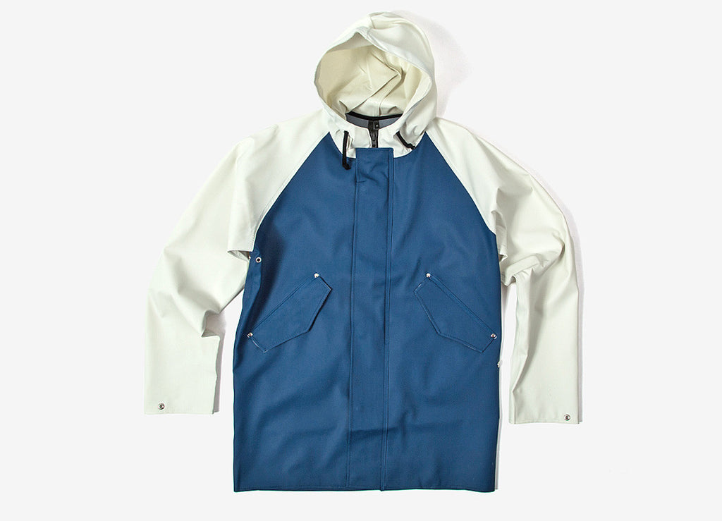 Elka Blokhus Jacket - Shelter Blue/Birch