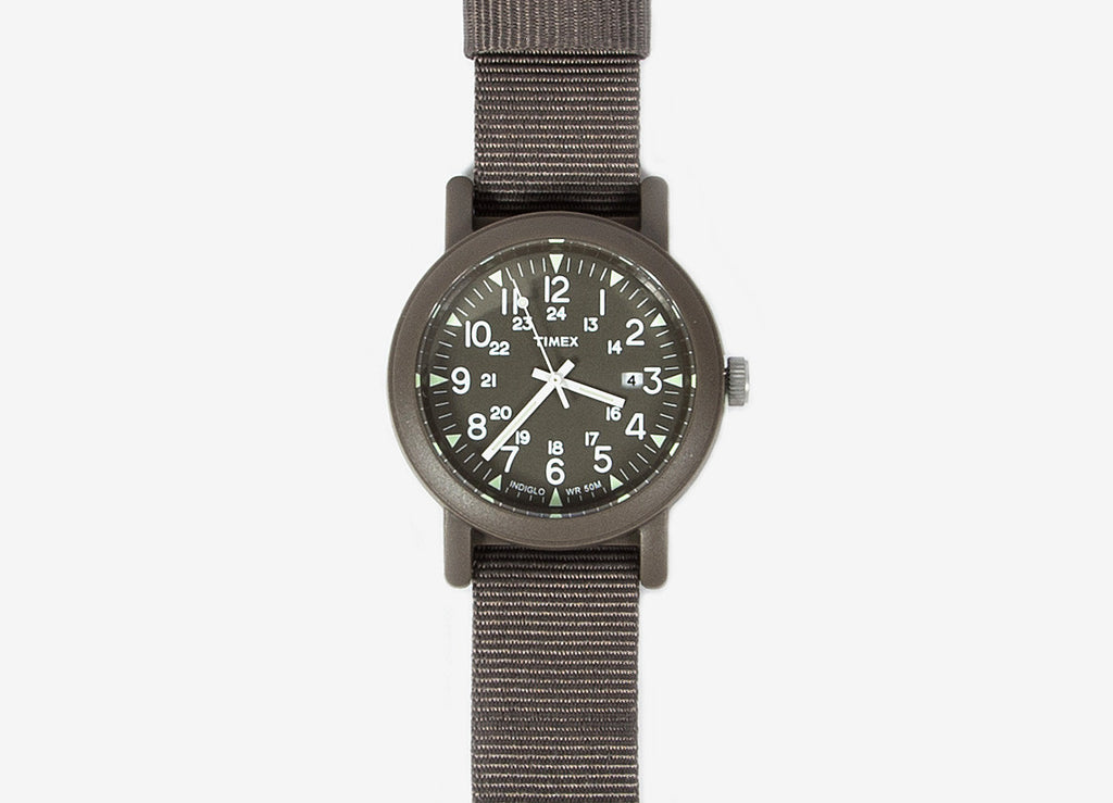 Timex Round Case Camper Watch - All Grey