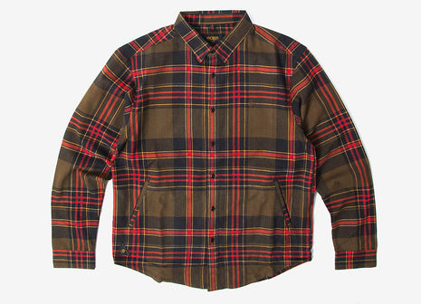 10Deep Engineers Buttondown Shirt - Olive Drab