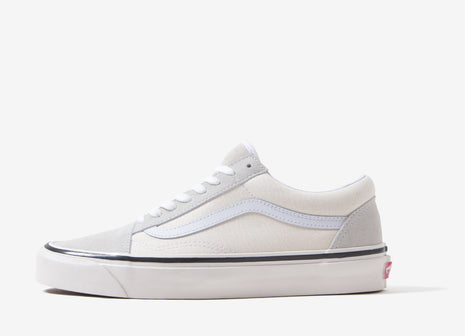 Vans Old Skool 36 DX 'Anaheim Factory' Shoes - Classic White