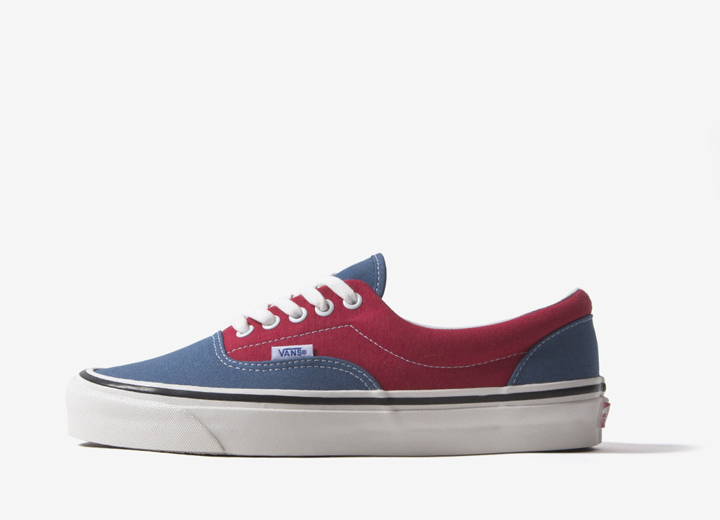Vans UA Era 95 DX 'Anaheim Factory' Shoes - OG Navy/OG Red
