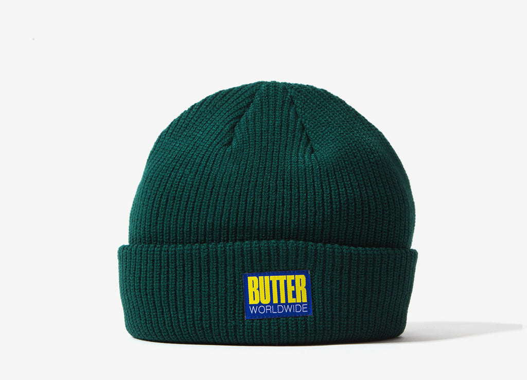 Butter Goods Hike Beanie - Forest