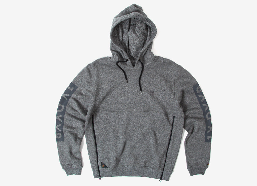 10Deep Boxed Out Tech Hoody - Black Marl