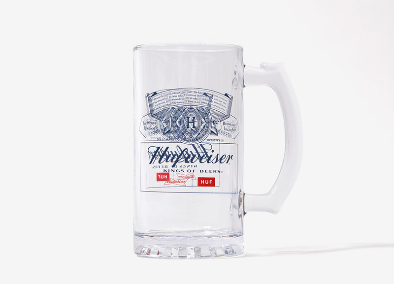 HUF x Budweiser Beer Mug - Glass