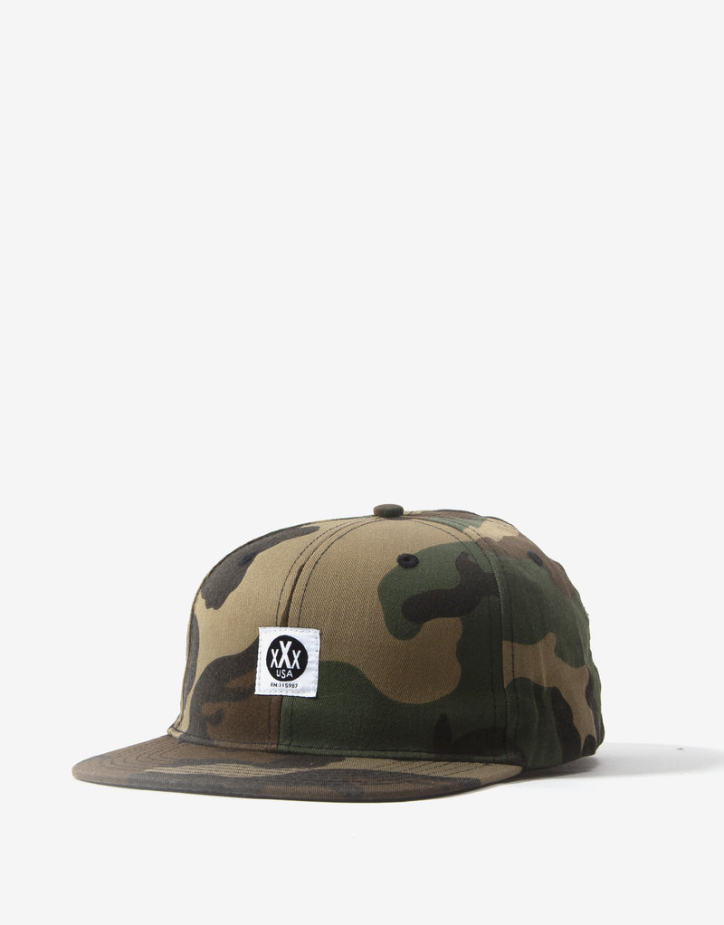 10Deep Canvas Logo Hat - Woodland