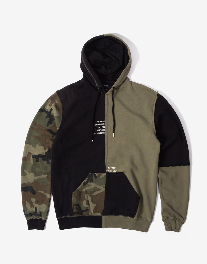 10Deep Surplus Hoody - Army