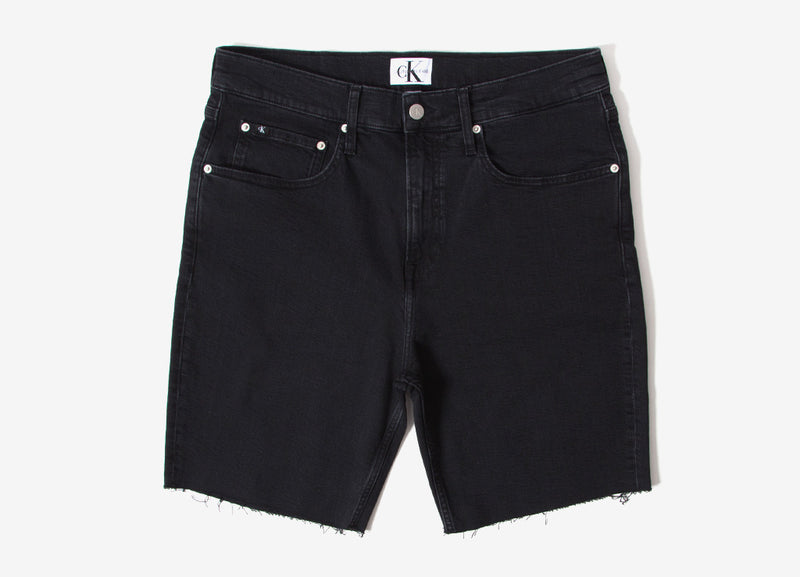 Calvin Klein Straight Shorts - Black Stone Wash