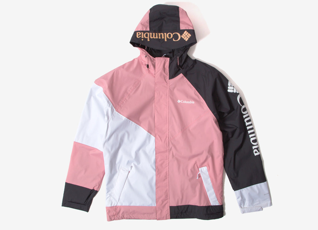 Columbia Windell Park Jacket - Rosewater/White