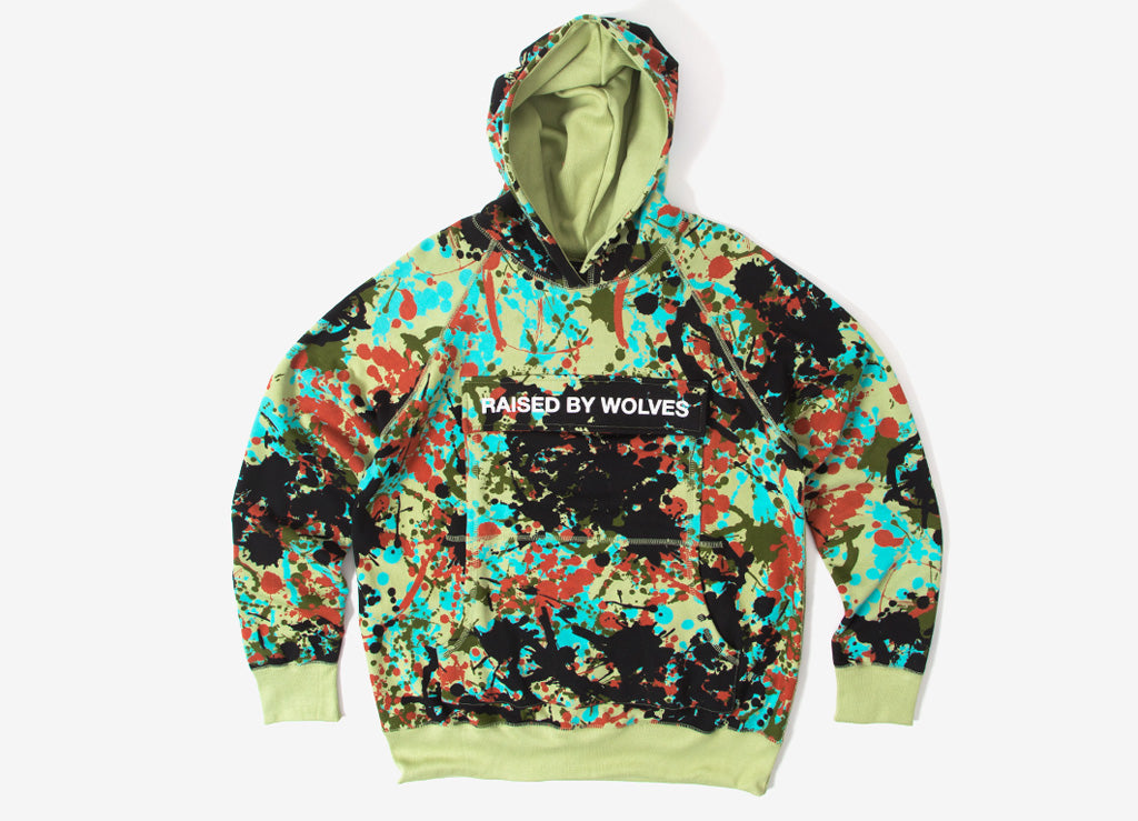 Raised By Wolves Cargo Hooded Sweatshirt - Speckle