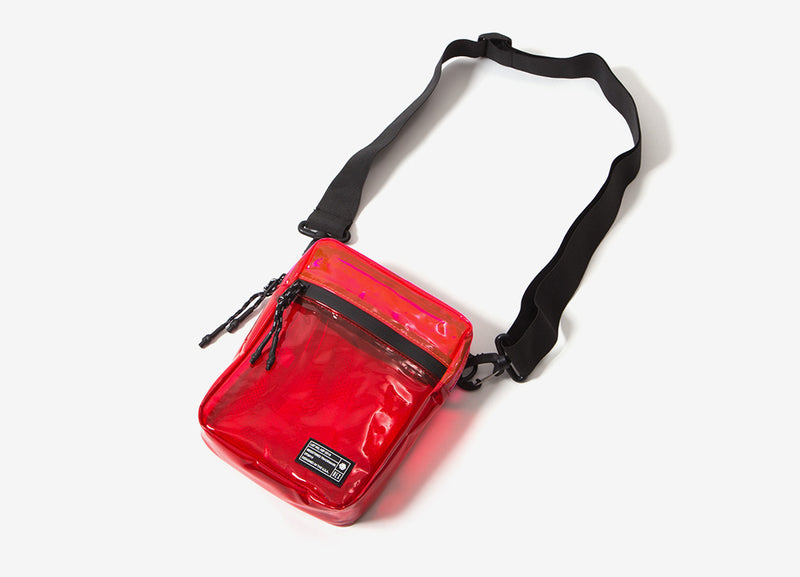 HEX Cross Body Pouch - Red/Pink