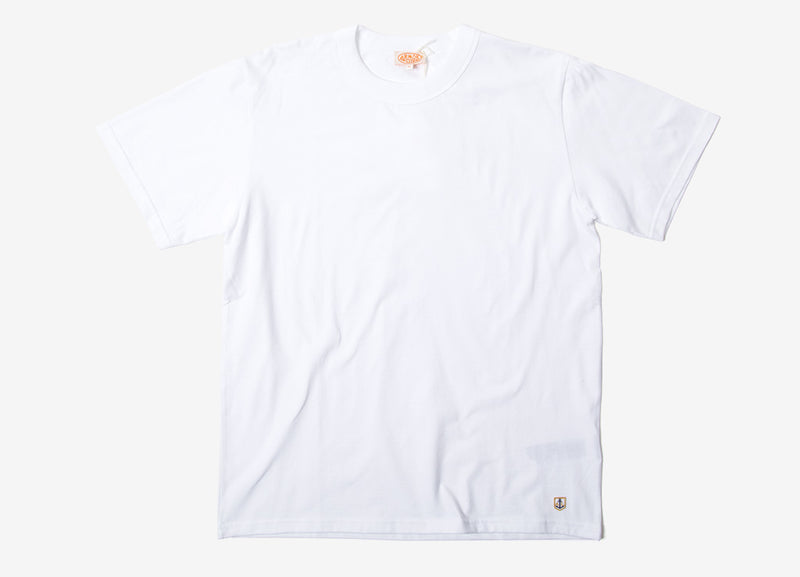 Armor Lux 71990 Basic T Shirt - White