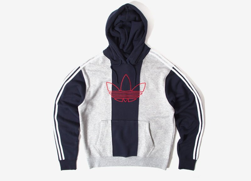 adidas Originals Off Court Trefoil Hoody - Grey/Ink