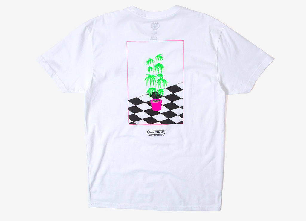 Good Worth & Co Life Plant T Shirt - White