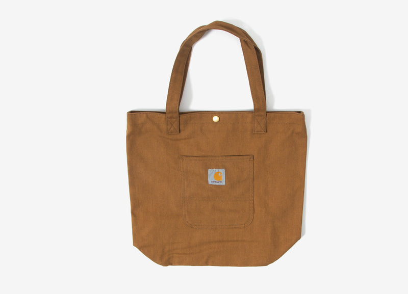 Carhartt Simple Tote Bag - Brown Rigid