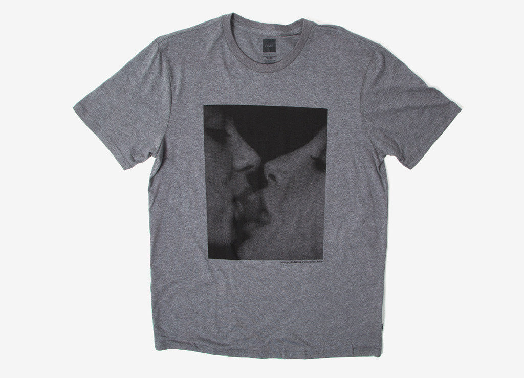 HUF Strawberry T Shirt - Heather Grey