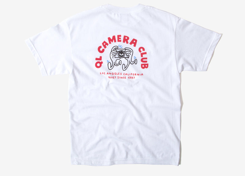 The Quiet Life Camera Hands T Shirt - White