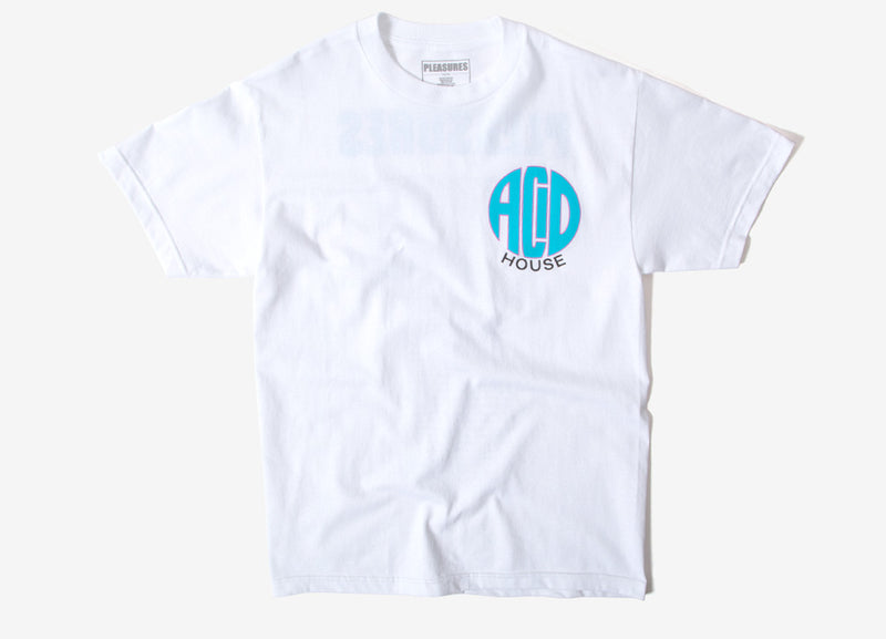 Pleasures Acid House T Shirt - White