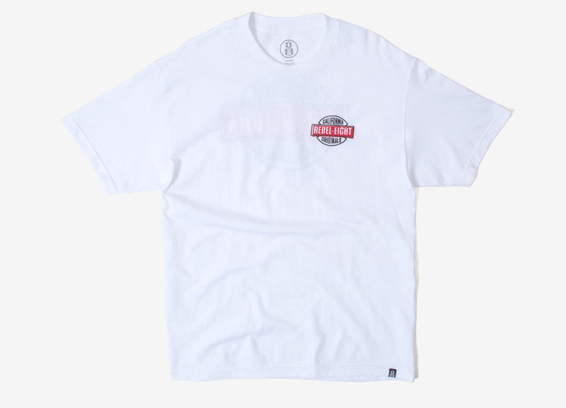 Rebel8 Nomad T Shirt - White