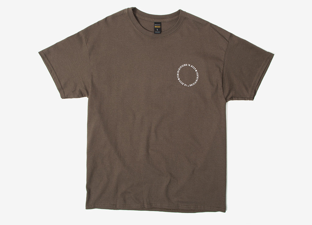 10Deep Triple Stack Logo T Shirt - Olive Drab