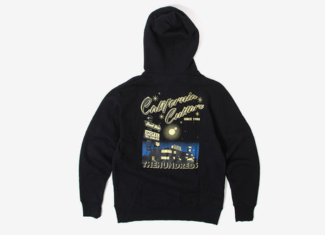 The Hundreds East Side Pullover Hoody - Black