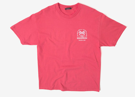 The Hundreds LA CA Lifestyle T Shirt  - Coral