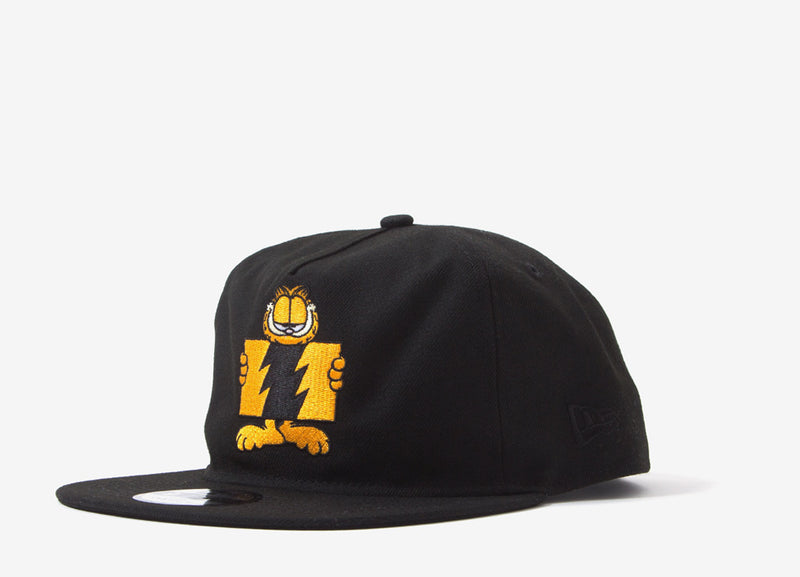 The Hundreds x Garfield Flag Unstructured Snapback - Black