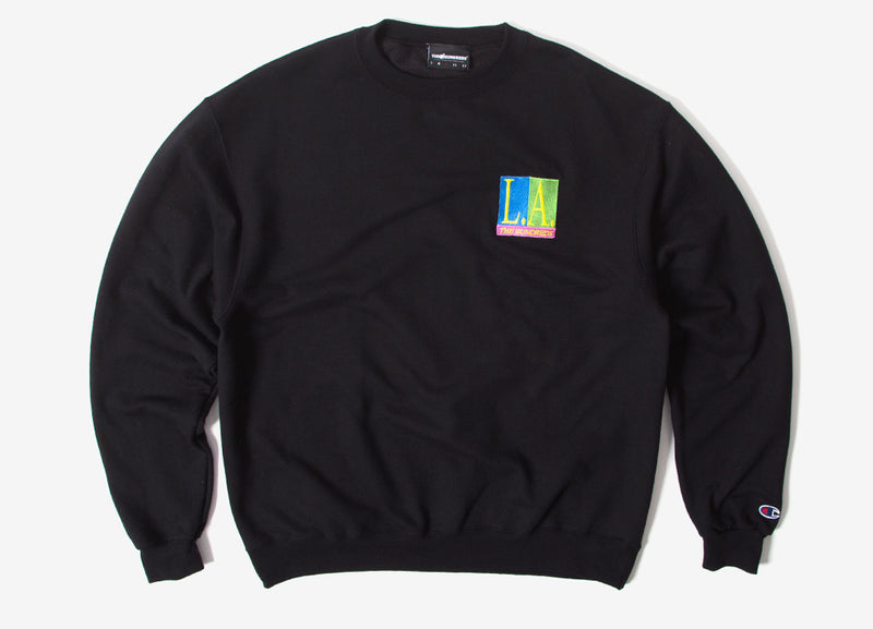 The Hundreds Hot Nights Crewneck Sweatshirt - Black