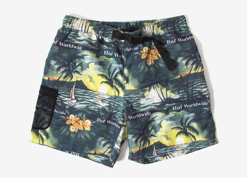 HUF Venice Easy Shorts - Black