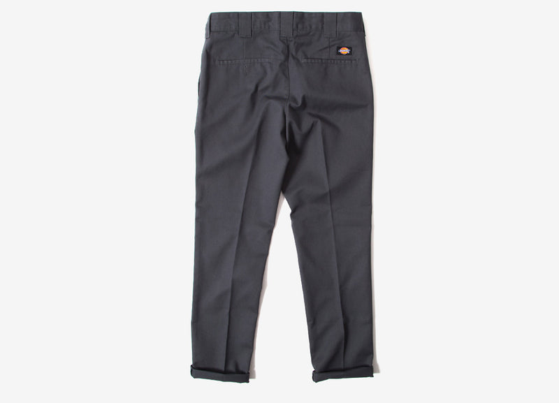 Dickies 872 Slim Fit Work Pant Trousers - Charcoal Grey