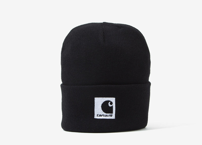 Carhartt Lewiston Beanie - Black/Wax