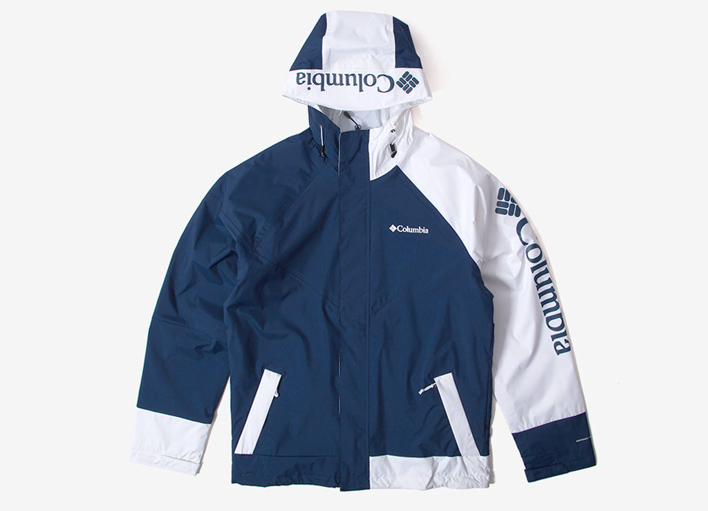Columbia Windell Park Jacket - Carbon/White